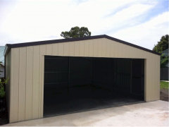 wide door garage