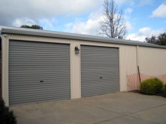 garage with 2 doors