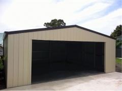wide door garage
