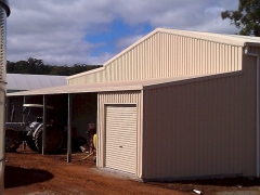 garage project in south west, western australia