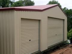 2-door garage